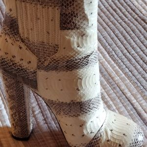 Racheal Zoe, London Real Snake Boots